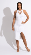Gold White Dress - Desiree Godsell Collection