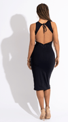 Gold Black Dress - Desiree Godsell Collection
