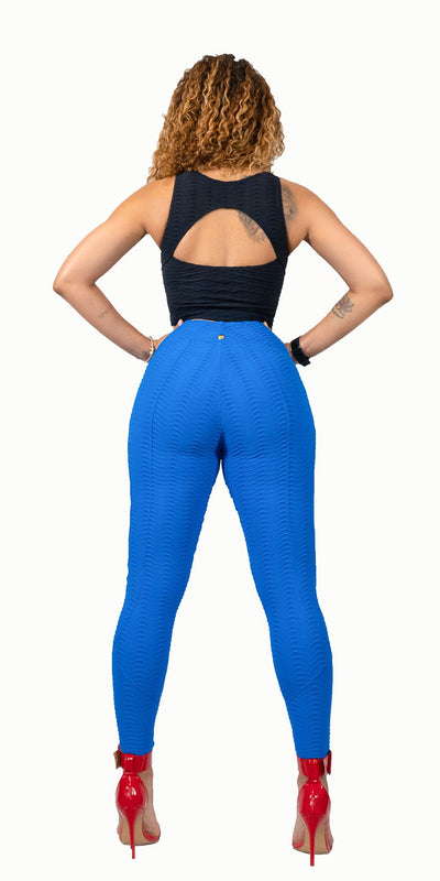 Love Yourself Leggings in Blue by Alemana