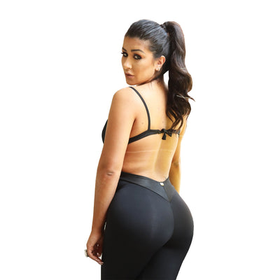 Double Strap Bodysuit Butt Lift Bodysuit-SOLD OUT!