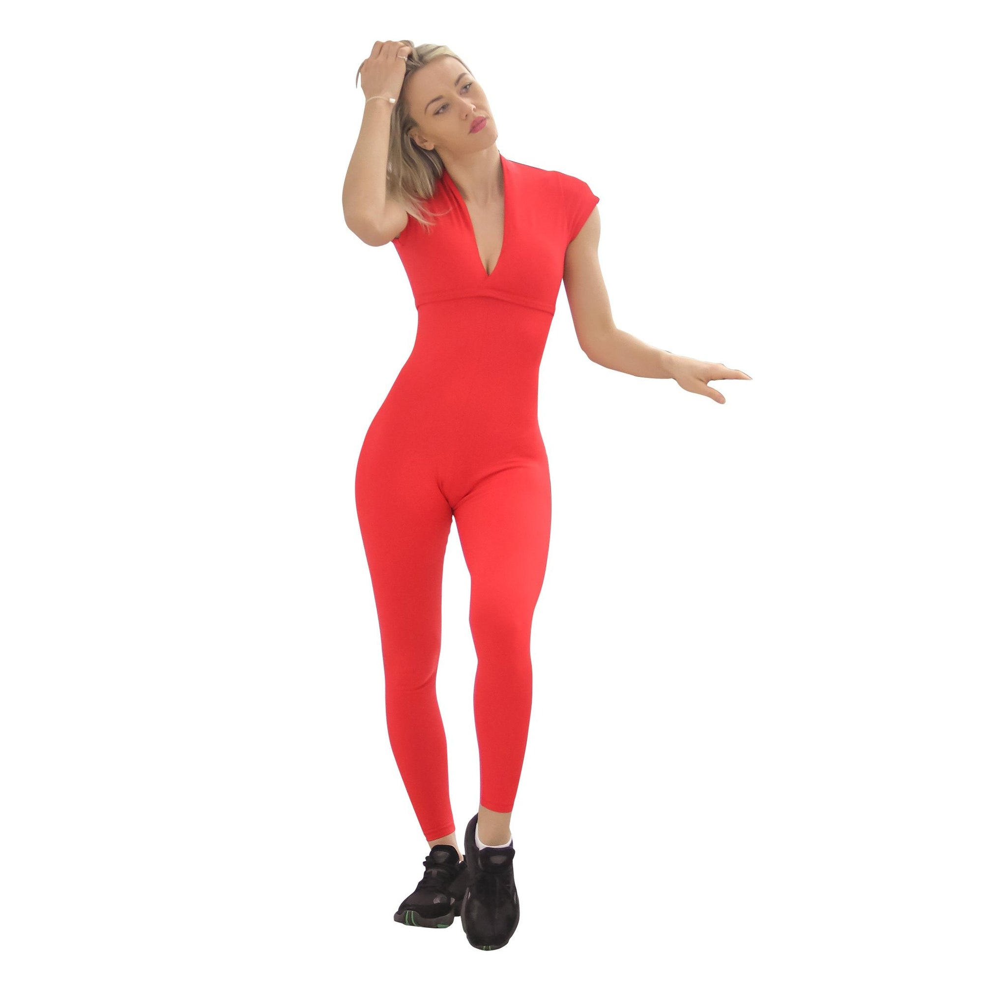 PAULINA JUMPSUIT - Now Available In Red