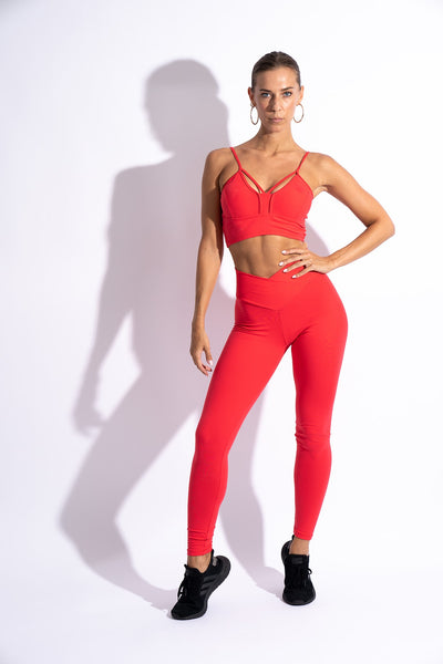 LURE Leggings - Red