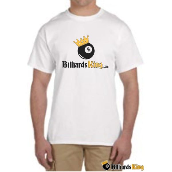 Billiards King Men's Front Logo T-Shirt - FREE With Any Purchase Over $250.00 - Billiards King
