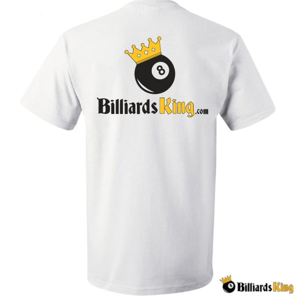Billiards King Men's T-Shirt - FREE With Any Purchase Over $250.00 - Billiards King
