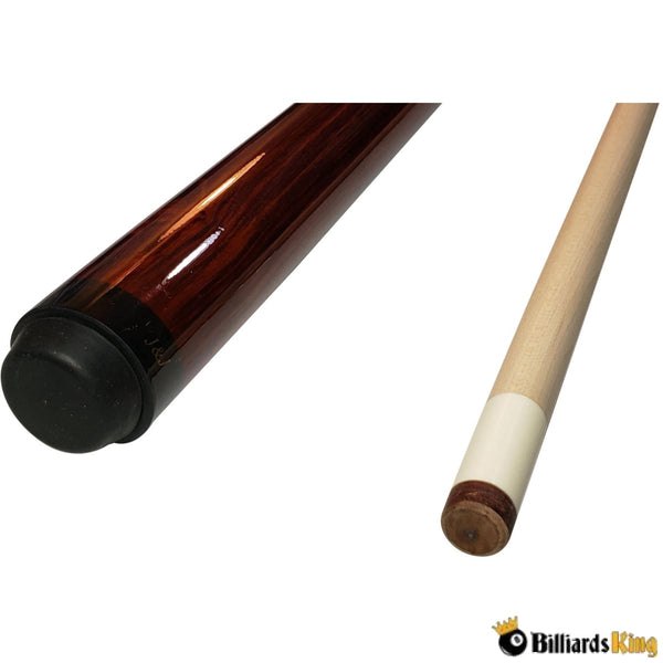Canadian Maple Rosewood Sneaky Pete Pool Cue Stick - Billiards King