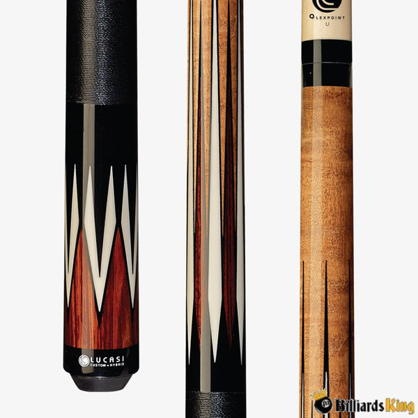 Lucasi Custom LZC37 Pool Cue Stick - Billiards King