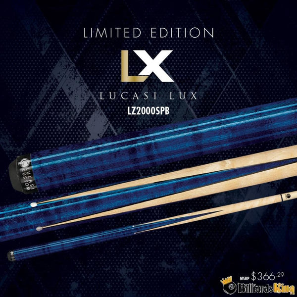 Lucasi Limited Edition LUX Sneaky Pete - LZ2000SPB Pool Cue Stick - Billiards King