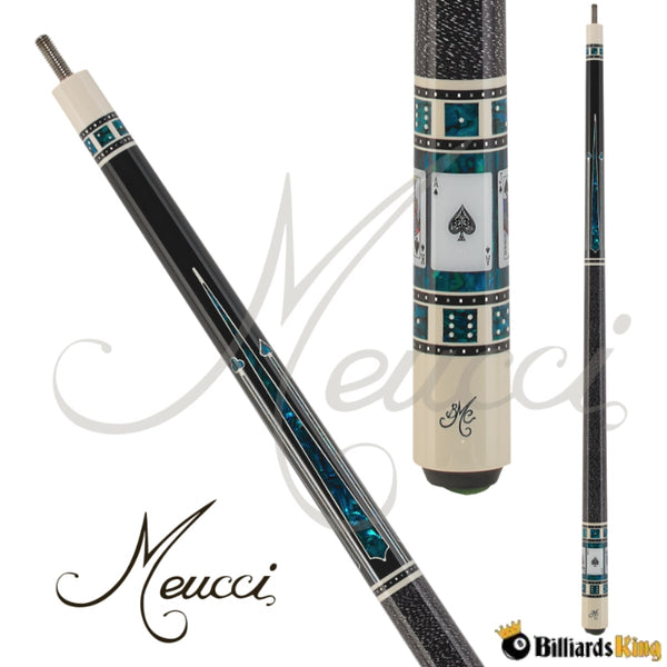 Meucci Casino 3 BMC-3 Pool Cue Stick - Billiards King