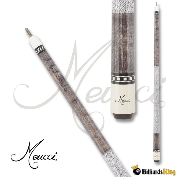 Meucci Jayson Shaw JS-S Smoke Pool Cue Stick - Billiards King