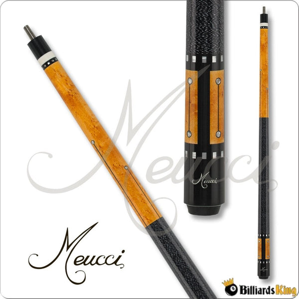 Meucci Recession Buster RB-5 Black Pool Cue Stick - Billiards King