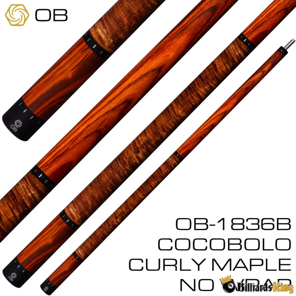 OB Cues OB-1836B Pool Cue Stick (Butt Only) | Billiards King