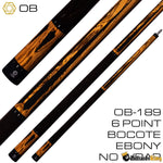 OB Cues OB-189 Pool Cue Stick (Butt Only) | Billiards King