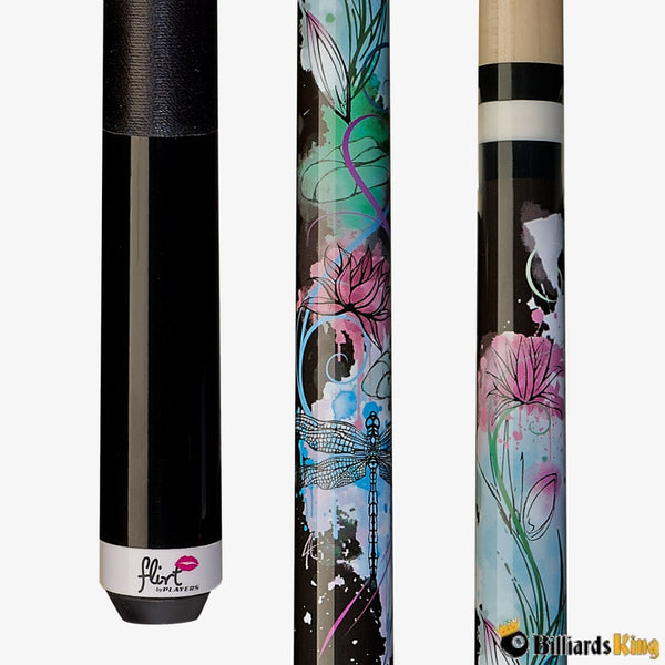 Players F-2605 Dragonfly Pool Cue Stick - Billiards King