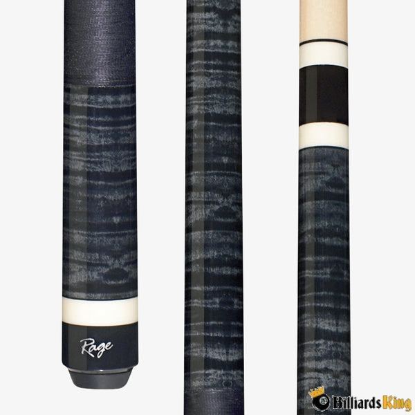 Rage RG125 Midnight Tiger Stripe Pool Cue Stick - Billiards King