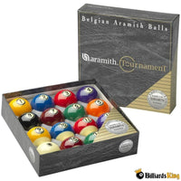 Super Aramith Tournament Duramith Balls - Billiards King