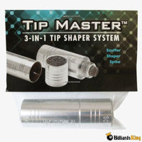 Tip Master TM31 3-in-1 Tip Tool - Billiards King