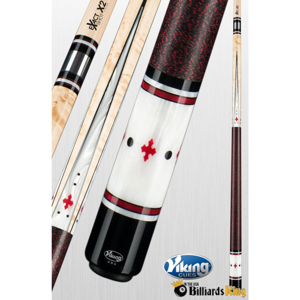 Viking EX181 eXactShot-X2 Pool Cue Stick - Billiards King