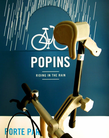 Porte parapluie pour vélo - Umbrella holder for bike