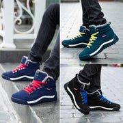 Men Winter Cotton Sneaker Boots