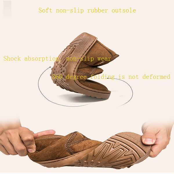 Men's Plush Velvet Warm Snow Boots