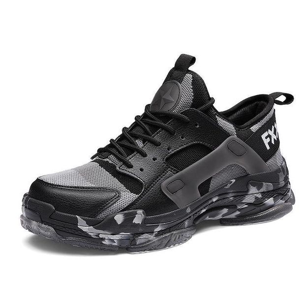 Men Lace-up Outdoor Walking Sneakers