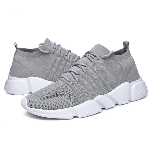 Men's Running Shoes Fashion Breathable Sneakers Mesh Soft Sole Casual Athletic Lightweight