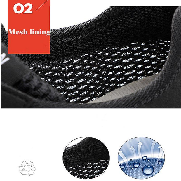 Men's Large Size Mesh Shoes Summer Breathable Shoes Running Shoes Size 38-47