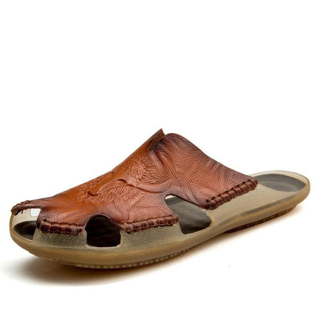 Men's Comfortable Leather Casual Sandals