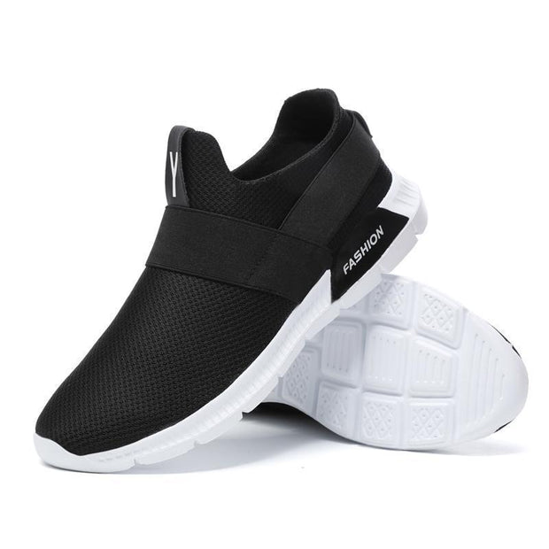 Men's Breathable Athletic Running Walking Gym Shoes