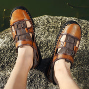 Men's casual and comfortable outdoor soft bottom non-slip wearable sandals 124869