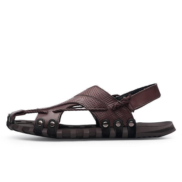 Men's casual and comfortable outdoor soft bottom non-slip sandals 124913