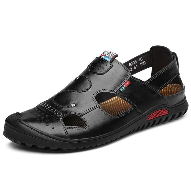 Men's casual fashion outdoor hollow flat slip sandals 124983