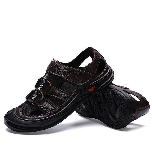 Men's casual fashion outdoor hollow sandals 125020