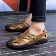 Men's casual trend outdoor baotou flat with beach sandals 125483