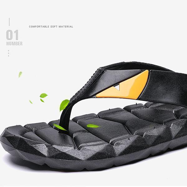 Men's Rubber Sandal Slipper Comfortable Shower Beach Shoe  125063