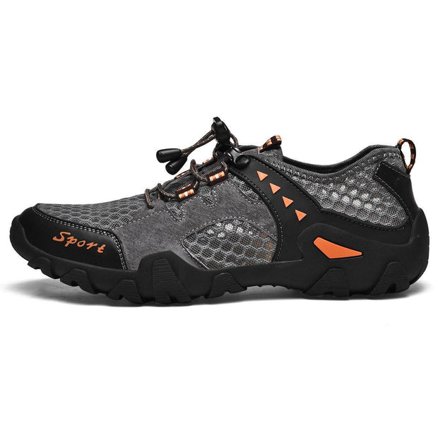 Men's Lightweight Slip On Mesh Outdoor Athletic Running Shoes