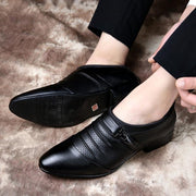 Men's Shoes Breathable Pointed Leather Shoe 133014