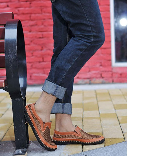 Men Casual Fashion Shoes New Comfort Men shoes Footwear Male Breathable Non-slip Loafers