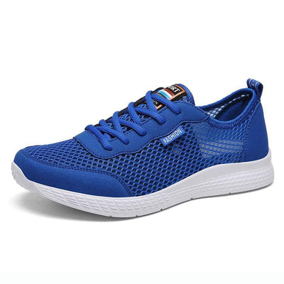 Men Mesh Slip On Light Weight Walking Running Sneakers