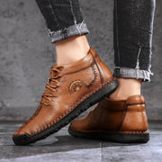 Men's Shoes Large Size Lace-Up Fashion