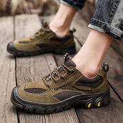 Men's Leather Large Size Handmade Breathable Shoes