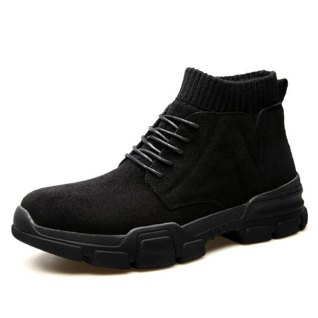 Men's fashion socks high boots