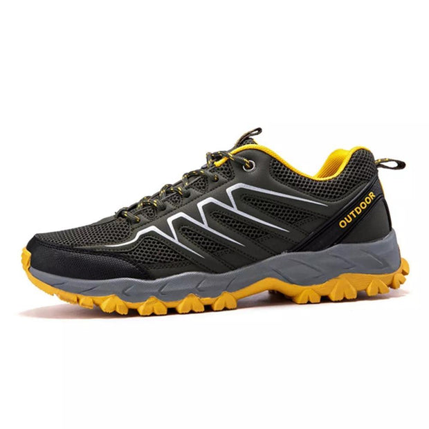 Men's Breathable Mesh Wear-Resistant Non-Slip Outdoors Hiking Sports Sneakers