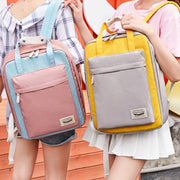 Women's Korean Version Cute Stylish Large-Capacity Laptop Shoulder Bagpack