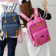 136806 Men's and women's Korean casual backpack large capacity backpack