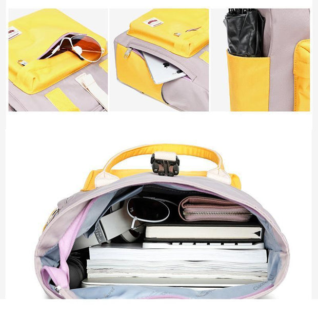 136841 Women Japanese-style portable backpack Korean version of high school fashion wild ins wind college bag