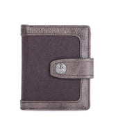 136889 Women's wallet leather short section ladies soft leather youth tide anti-theft brush