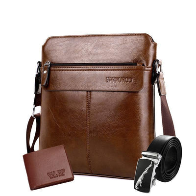 136906  Men's trend high-end shoulder bag