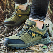 Men's Suede Breathable Stylish Outdoors Athletic Casual Hiking Sneakers