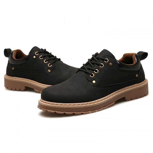 Men's British Wind Low-Top Shoes